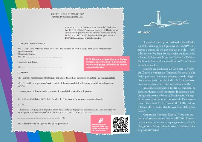 Folder Lei Dandara Verso