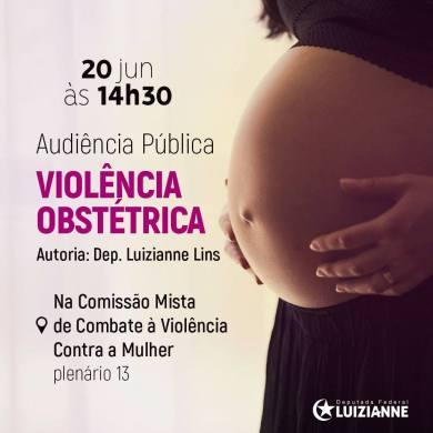 peça violencia obstetrica
